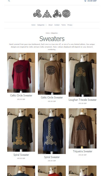 Online Sweaters